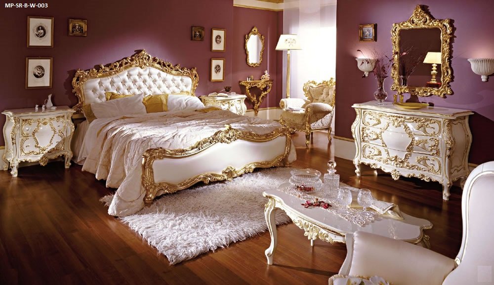 barock italienische stilm bel franca. Black Bedroom Furniture Sets. Home Design Ideas